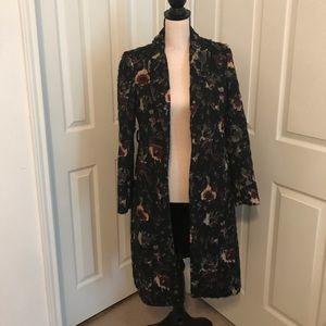 Zara Floral Coat